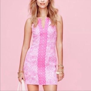 Lilly for Target See You Later Pink Shift Dress